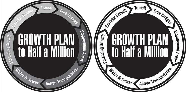 Growth Plan logo variations