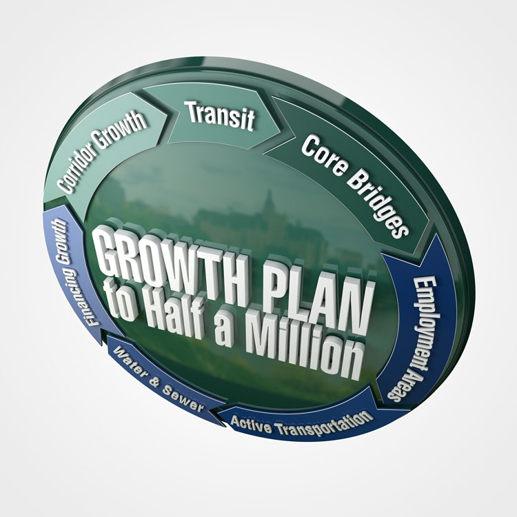 Growth Plan logo render