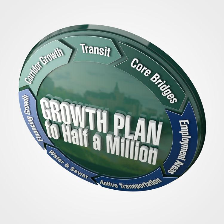 Growth Plan logo render