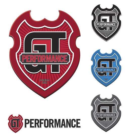 GT Performance logo variations