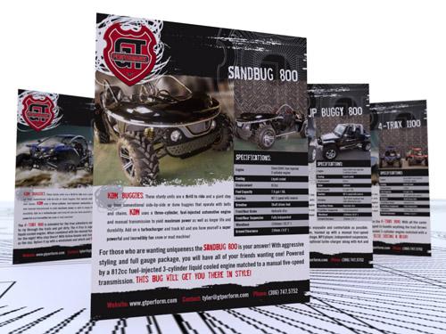 GT Performance brochures