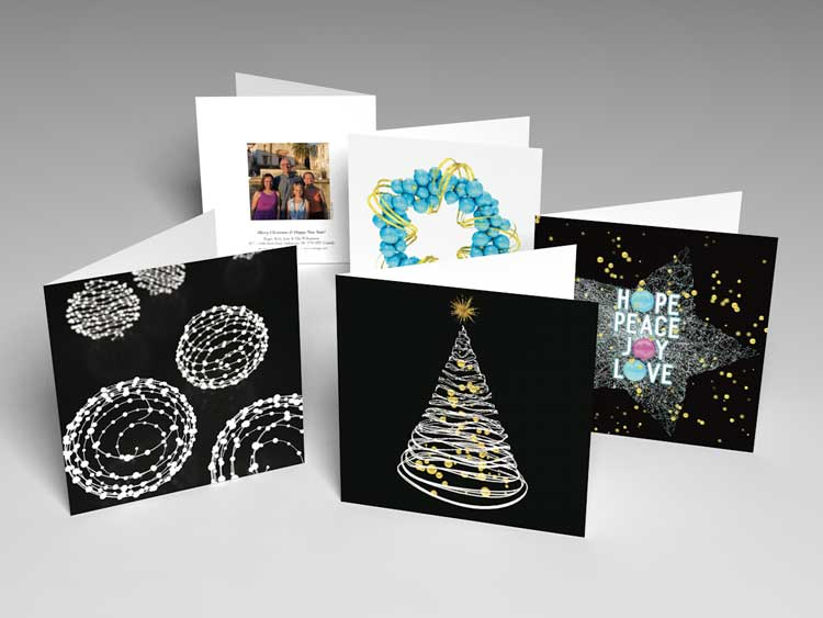 Variety of cards for the 2016 year. Graphics modelled and rendered in Cinema 4D, rendered and assembled in Indesign for printing.