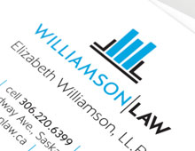 Williamson Law: logo design