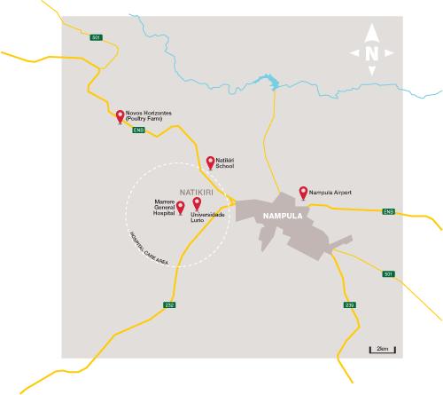 Project Frango map