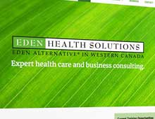 Eden Health Solutions: website